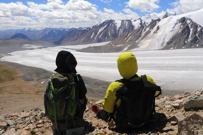 Altai mountains of Mongolia