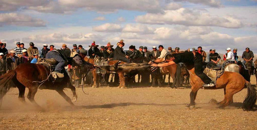 Golden Eagle Festival in Mongolia