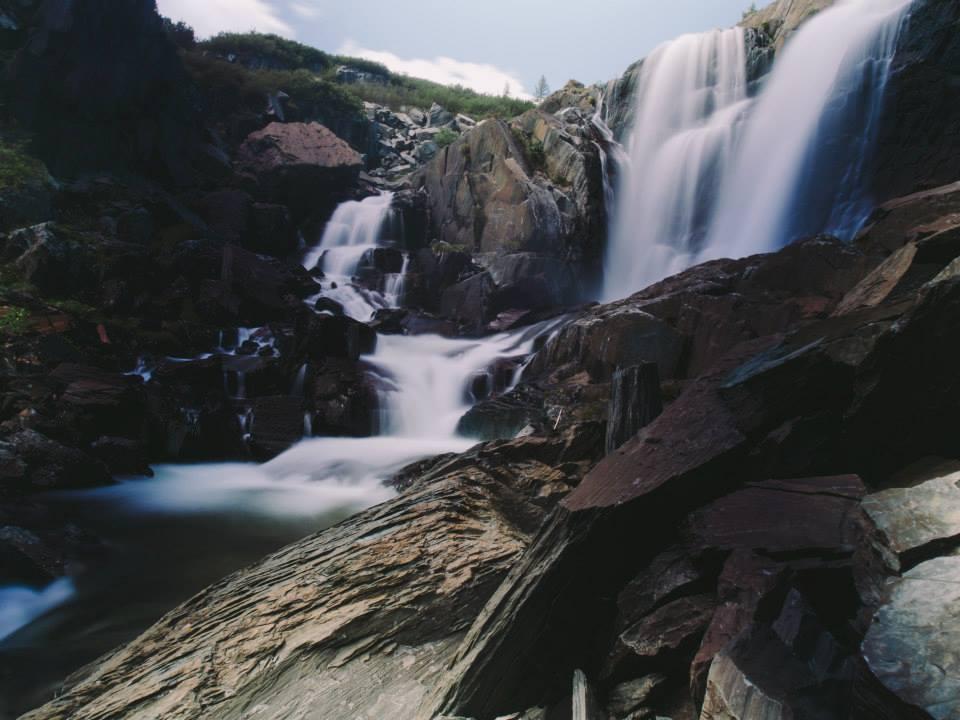 baga turgen waterfall