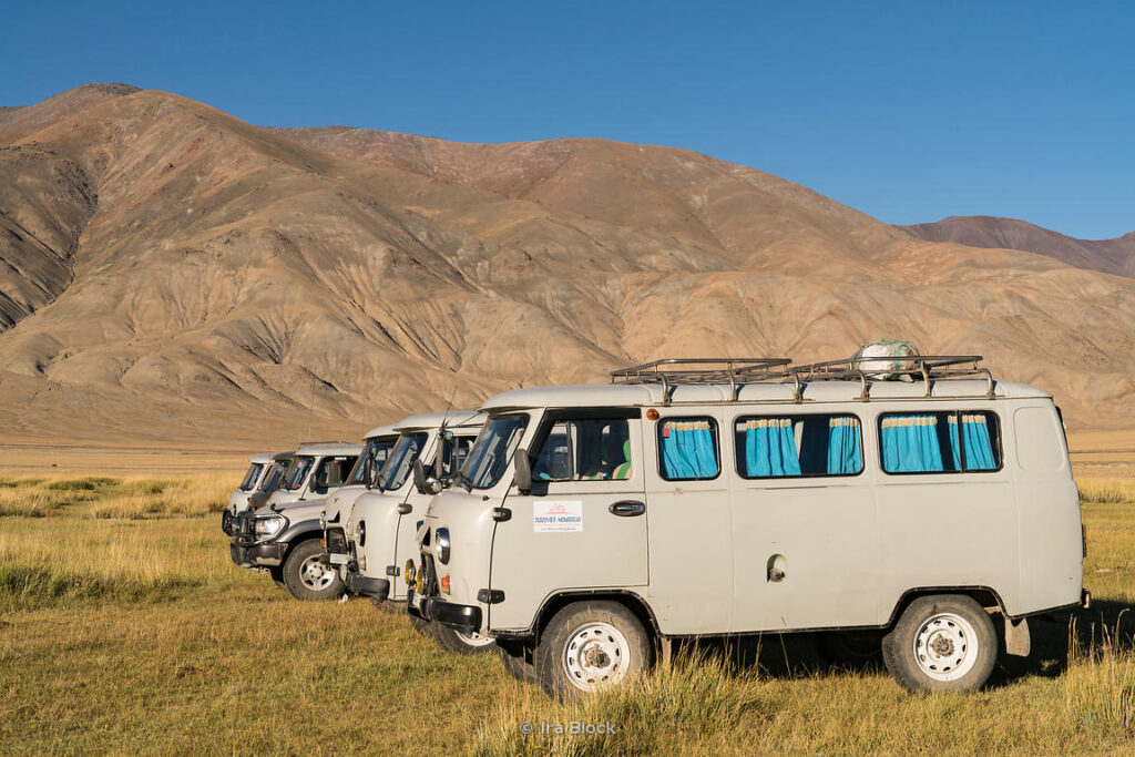 Best transport for touring in Mongolia