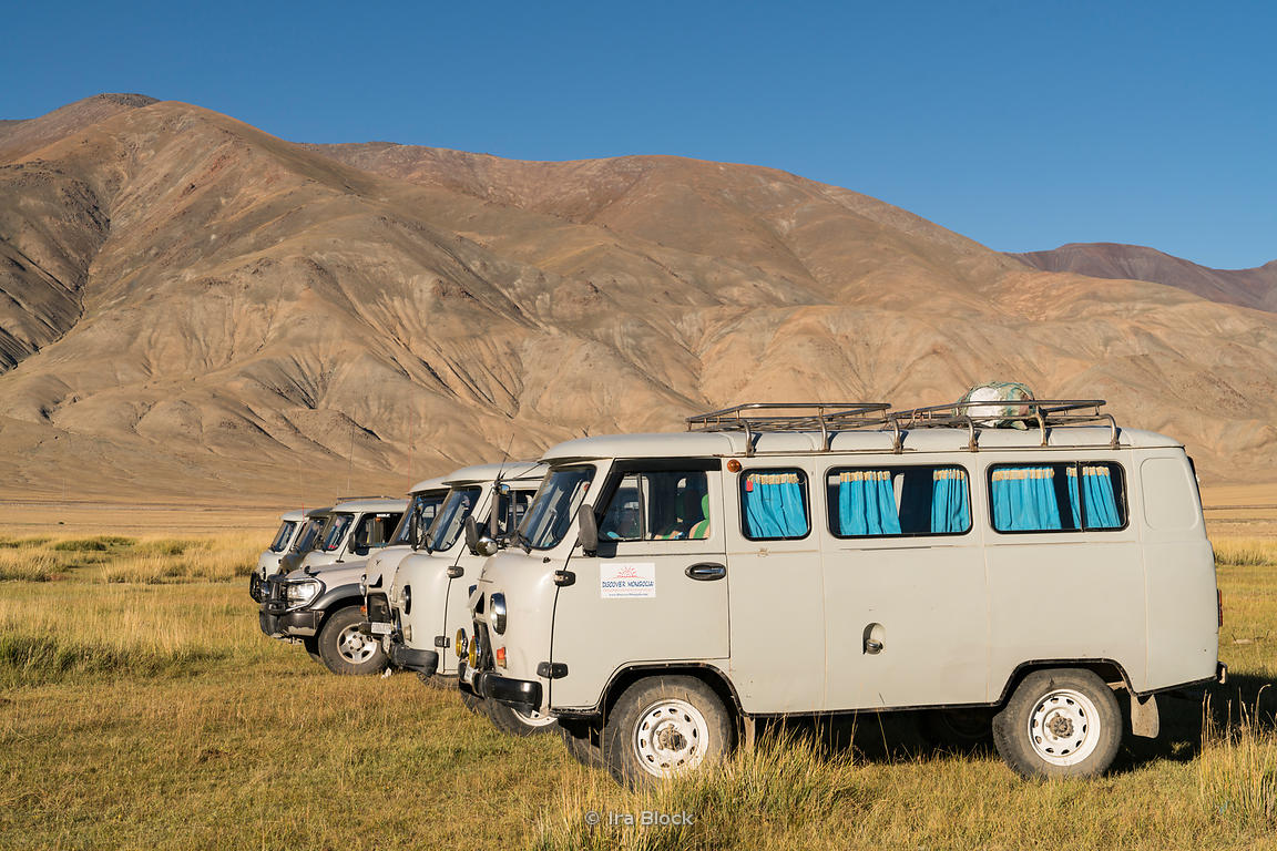 The best transport for touring in Mongolia
