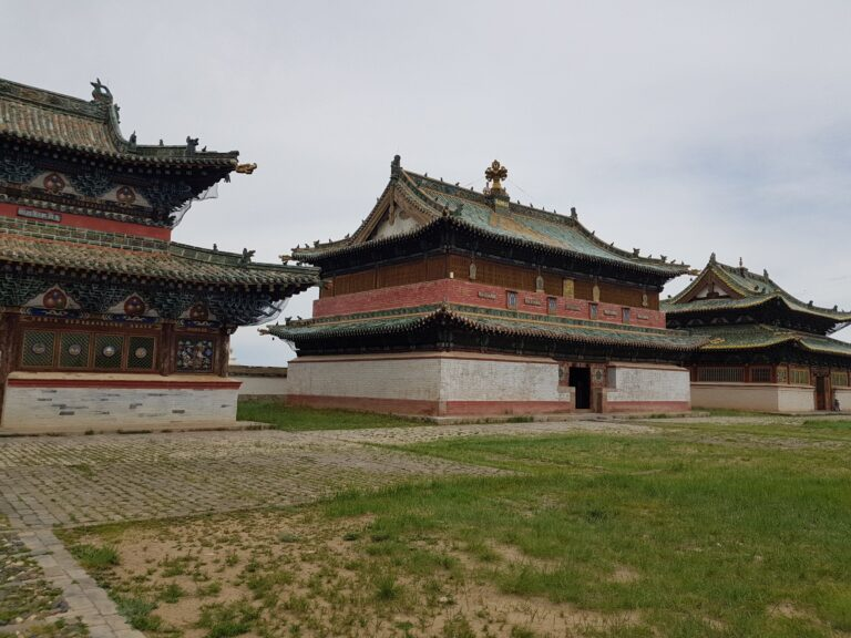Kharakhorum the ancient capital of the Mongol empire