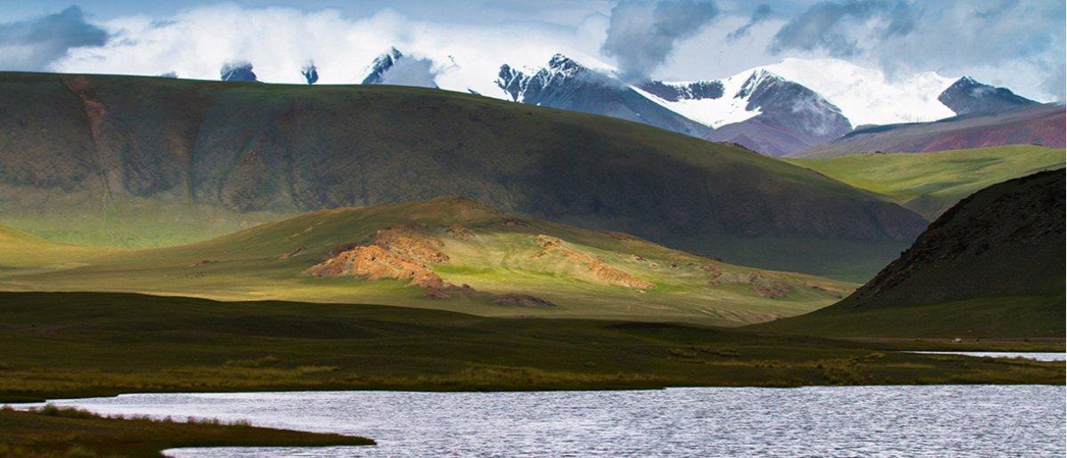 Tsambagarav natioal park in western Mongolia