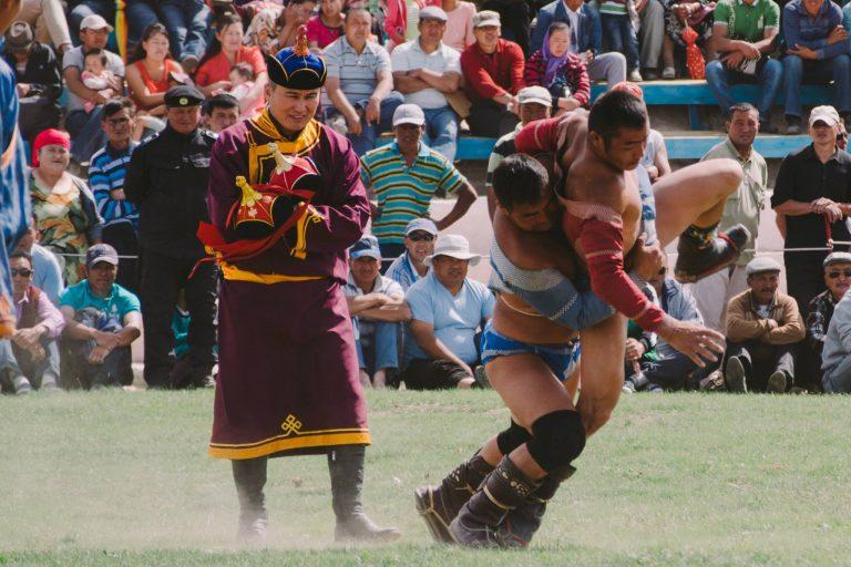The Naadam Festival in Mongolia